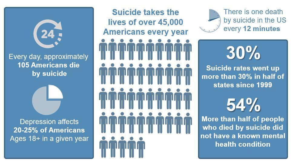 Suicide in US 2019 Info